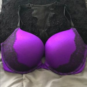 Purple Victoria's Secret bra